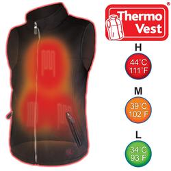 Thermo Steppweste THERMO VEST Beheizbare Outdoor Weste für Damen und Herren XS