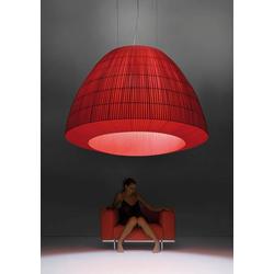 Designer-Hängeleuchte Bell ø 180 cm Axo Light - Rot