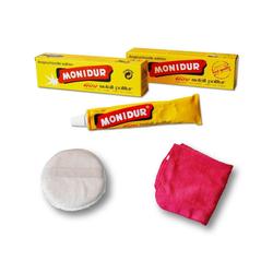 Autowaschbürste Poliermittel Politur Metall Chrom Schutz, Monidur, (4-tlg)