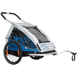 XLC Fahrradkinderanhänger DUO blau