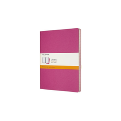 Moleskine Cahier XL 3er Set Liniert Kinetisches Pink