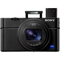 Sony DSC-RX100M6 Kompaktkamera (ZEISS Vario-Sonnar T, 20,1 MP, 8x opt. Zoom, Bluetooth, NFC, WLAN (Wi-Fi) schwarz