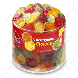 Red Band Fruchtgummi Clown 1350g