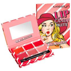 Misslyn Lippenstift Lippen-Make-up Make-up Set 2.4 g Rot