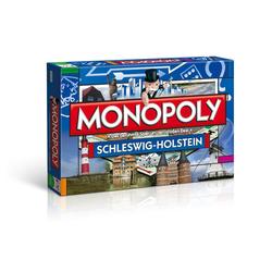 Winning Moves Spiel, Brettspiel Monopoly Schleswig-Holstein