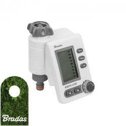 Bewässerungscomputer Bewässerungstimer Wasserzeitschaltuhr Bewässerungsuhr WHITE LINE BRADAS 2822