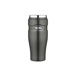 Alfi Isolierbecher Stainless King in grey, 0,47 l