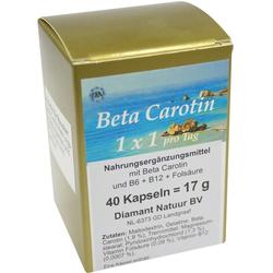 BETA CAROTIN 1 X 1 PRO TAG