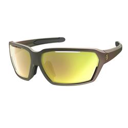 Scott Sportbrille Vector Komodo Green - Gold Chrome
