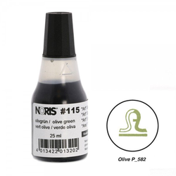 NORIS Stempelfarbe Olive Pantone 582