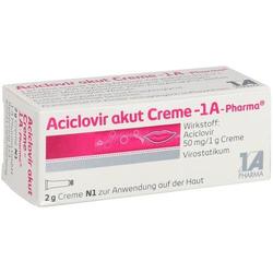 ACICLOVIR akut Creme-1A Pharma 2 g