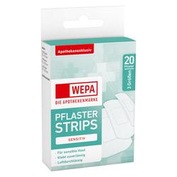 WEPA PFLASTER STRIPS SENSITIV