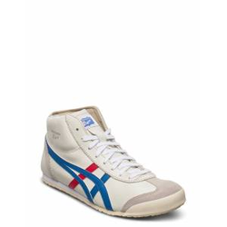 Onitsuka Tiger Mexico Mid Runner Hohe Sneaker Creme ONITSUKA TIGER Creme 44,43.5,42.5,44.5,46,42,41.5,39.5,47