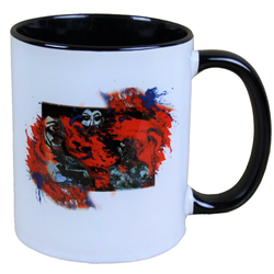 Harald Glööckler Pompöös Tasse Eye Red - designed by Harald Glööckler
