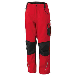 Workwear Bundhose CORDURA® - (red/black) 27
