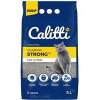 Calitti Katzenstreu Klumpstreu ohne Duft | 100 % natürlichem Bentonit | 3 Wochen - 5L