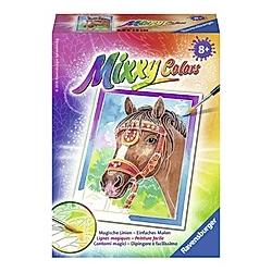 Mixxy Colors, Bildgröße 18 x 24 cm: Delfine