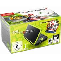 Nintendo New Nintendo 2DS XL schwarz/grün + Mario Kart 7 (Bundle)