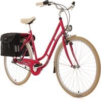 KS-CYCLING Verona 28 Zoll RH 54 cm 3-Gang Damen rot