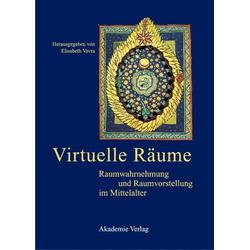 Virtuelle Räume als Buch von
