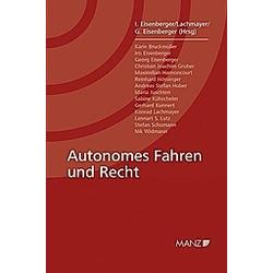 Autonomes Fahren und Recht - Buch