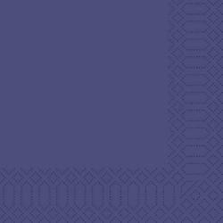 1000 St. Duni Servietten, dunkelblau, 33 x 33 cm, 3-lagig