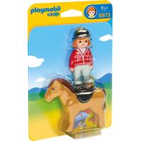 Playmobil 1.2.3 Reiterin mit Pferd (6973)
