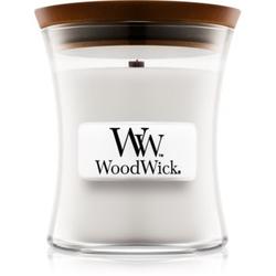 Woodwick Warm Wool Duftkerze mit Holzdocht 85 g