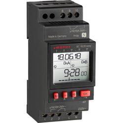 Müller SC18.20 easy, 24V ACDC Hutschienen-Zeitschaltuhr digital 24 V/DC, 24 V/AC 16 A/250V