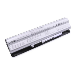 vhbw Li-Ion Akku 6600mAh (11.1V) silber für Notebook Laptop Wortmann Terra Mobile 1766, 1773 wie BTY-S14, BTY-S15.