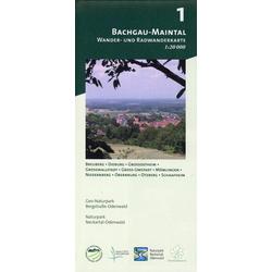 Bachgau-Maintal 1:20.000