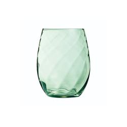 Chef & Sommelier Tumbler-Glas Arpège Color, Krysta Kristallglas, Trinkglas Wasserglas Saftglas 350ml Krysta Kristallglas grün 6 Stück