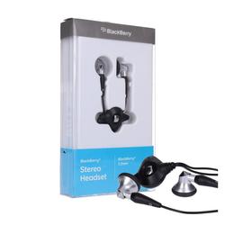 Blackberry Stereo Headset 3,5mm schwarz/silber ACC-14322-203 Wireless-Headset