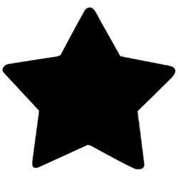 Rico Design Stanzwerkzeug Motivstanzer Stern Weiß und Schwarz 38mm