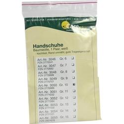 HANDSCHUHE Baumwolle Gr.10 2 St