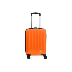 CHECK.IN® Handgepäck-Trolley London 2.0 4-Rollen-Trolley 55 cm, 4 Rollen Rollen orange