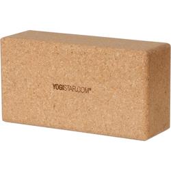 YOGISTAR.COM Yoga Block in kork, Größe Einheitsgröße kork Einheitsgröße