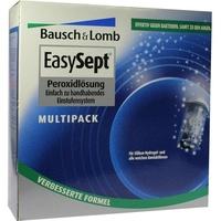 Bausch + Lomb EasySept Lösung 2 x 360 ml + Sensitive Eyes Kochsalz-Lösung 355 ml Multipack