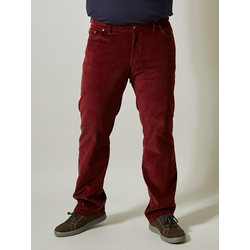 Cordhose Men Plus Bordeaux