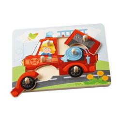 Haba Puzzle Greifpuzzle Feuerwehr, 6 Puzzleteile