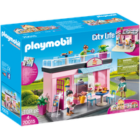 Playmobil City Life Mein Lieblingscafe 70015