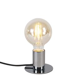 Moderne Tischlampe Chrom - Facil