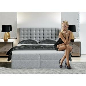 Boxspringbett MAGNUS Ehebett mit Bettkasten 160x200cm Sonderangebot versandberei