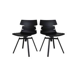 mokebo Drehstuhl Der Kuriose, 2er Stuhl-Set mit Drehgestell