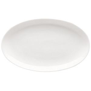 Rosenthal Servierplatte Jade Weiß Beilagenplatte, Porzellan, (1-tlg) weiß