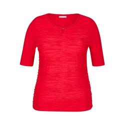 Rabe Rundhalsshirt rot Damen Rundhalsshirts Shirts Sweatshirts