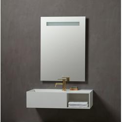 Badspiegel Lökken, Breite 60 cm weiß