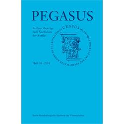 Pegasus 16 als Buch von