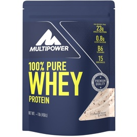 Multipower 100% Pure Whey Protein Cookies & Cream Pulver 450 g