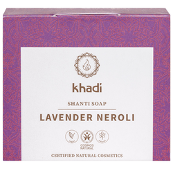 Khadi Shanti Soap Lavender Neroli 100 g